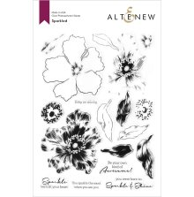 Altenew Clear Stamps 6X8 - Sparkled