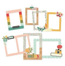 Simple Stories Layered Frames 6/Pkg - Hello Today