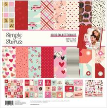 Simple Stories Collection Kit 12X12 - Sweet Talk