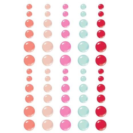 Simple Stories Enamel Dots 60/Pkg - Sweet Talk