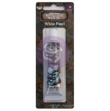 Prima Finnabair Wax Paste 20ml - White Pearl
