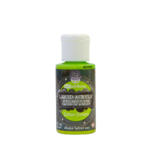 Prima Finnabair Art Alchemy Liquid Acrylic Paint 30ml - Lime Green