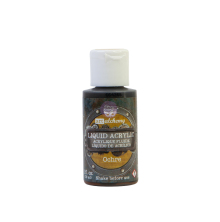 Prima Finnabair Art Alchemy Liquid Acrylic Paint 30ml - Orchre