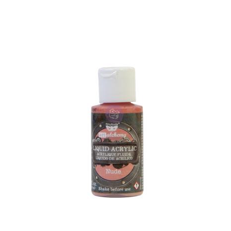 Prima Finnabair Art Alchemy Liquid Acrylic Paint 30ml - Nude