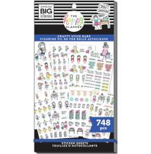 Me & My Big Ideas Happy Planner Sticker Value Pack - Crafty Stick Babe 748