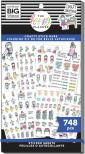 Me & My Big Ideas Happy Planner Sticker Value Pack - Crafty Stick Babe 748