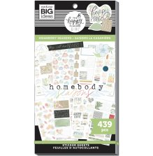 Me & My Big Ideas Happy Planner Sticker Value Pack - Homebody Seasons 439