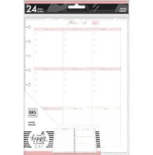 Me & My Big Ideas CLASSIC Fill Paper  - Minimalist Weekly Schedule