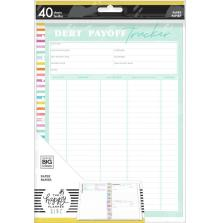 Me & My Big Ideas CLASSIC Fill Paper - Savvy Saver Debt Payoff Tracker