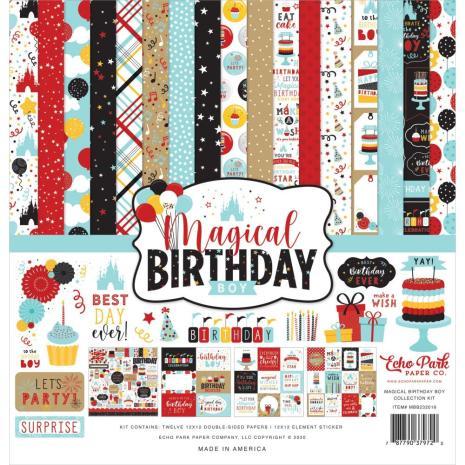 Echo Park Collection Kit 12X12 - Magical Birthday Boy