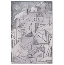 Sizzix 3-D Textured Impressions Embossing Folder - Doodle Triangles