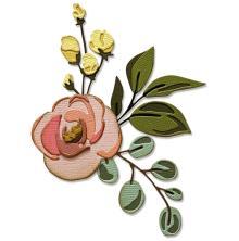 Tim Holtz Sizzix Thinlits Dies - Bloom Colorize