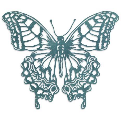 Tim Holtz Sizzix Thinlits Dies - Perspective Butterfly