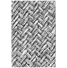 Tim Holtz Sizzix 3-D Texture Fades Embossing Folder - Intertwined