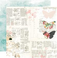 Simple Stories Simple Vintage Cottage Fields Cardstock 12X12 - Sweet Life