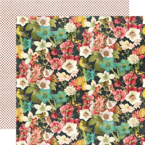 Simple Stories Simple Vintage Cottage Fields Cardstock 12X12 - Simple Things