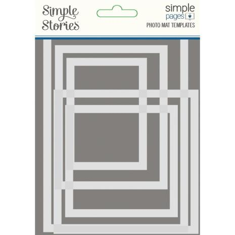 Simple Stories Simple Pages Page Template - Photo Mat