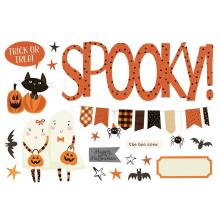 Simple Stories Simple Page Pieces - Halloween