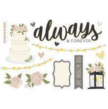 Simple Stories Simple Page Pieces - Wedding