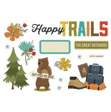 Simple Stories Simple Page Pieces - Happy Trails