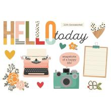 Simple Stories Simple Page Pieces - Hello Today