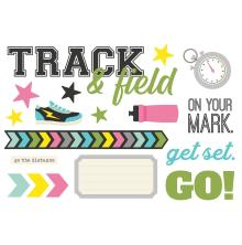 Simple Stories Simple Page Pieces - Track & Field