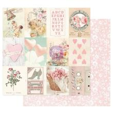 Prima Magic Love Cardstock 12X12 - Sweetness