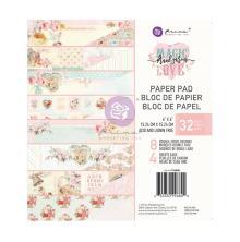 Prima Double-Sided Paper Pad 6X6 32/Pkg - Magic Love