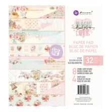 Prima Double-Sided Paper Pad 8X8 32/Pkg - Magic Love