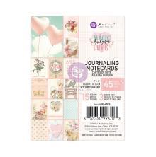 Prima Journaling Cards 3X4 45/Pkg - Magic Love