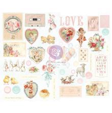 Prima Chipboard Stickers 44/Pkg - Magic Love