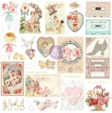 Prima Cardstock Ephemera 33/Pkg - Magic Love Shapes