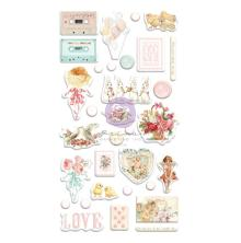 Prima Puffy Stickers 32/Pkg - Magic Love
