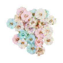 Prima Magic Love Mulberry Paper Flowers 24/Pkg - Pixies