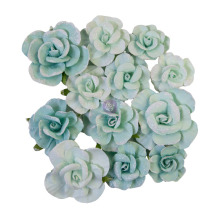 Prima Magic Love Mulberry Paper Flowers 12/Pkg - Magical Love