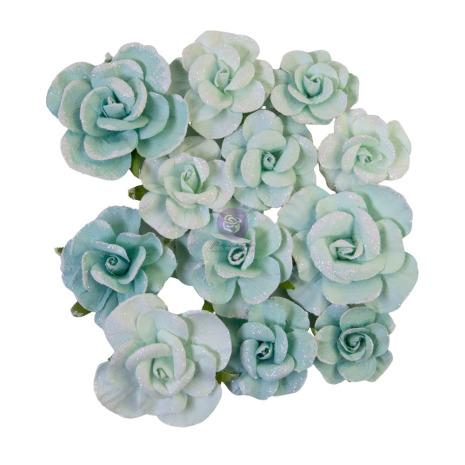 Prima Magic Love Mulberry Paper Flowers 12/Pkg - Magical Love