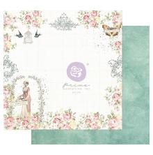Prima My Sweet Cardstock 12X12 - To My Sweet