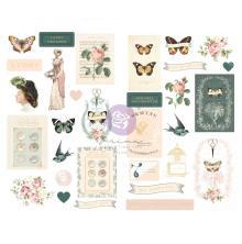 Prima Chipboard Stickers 31/Pkg - My Sweet
