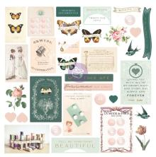 Prima Cardstock Ephemera 33/Pkg - My Sweet Shapes