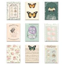 Prima Wood Stickers 9/Pkg - My Sweet