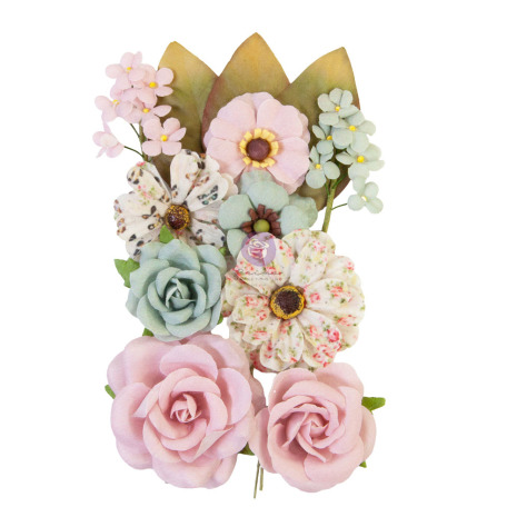 Prima My Sweet Mulberry Paper Flowers 12/Pkg - Forever Us