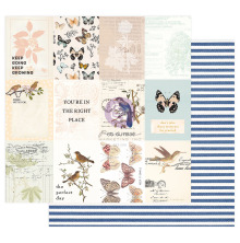 Prima Nature Lover Cardstock 12X12 - The Perfect Day