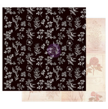 Prima Nature Lover Cardstock 12X12 - All the Flowers