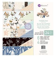Prima Double-Sided Paper Pad 12X12 24/Pkg - Nature Lover