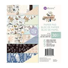 Prima Double-Sided Paper Pad 6X6 30/Pkg - Nature Lover