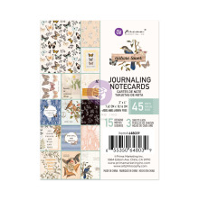 Prima Journaling Cards 3X4 45/Pkg - Nature Lover