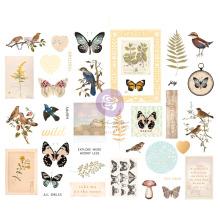 Prima Chipboard Stickers 31/Pkg - Nature Lover