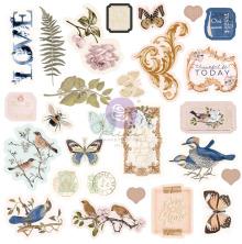 Prima Cardstock Ephemera 27/Pkg - Nature Lover