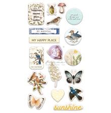 Prima Puffy Stickers 32/Pkg - Nature Lover