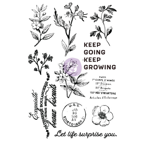 Prima Clear Stamps 11/Pkg - Nature Lover